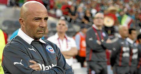 El técnico Jorge Sampaoli deja la selección chilena.