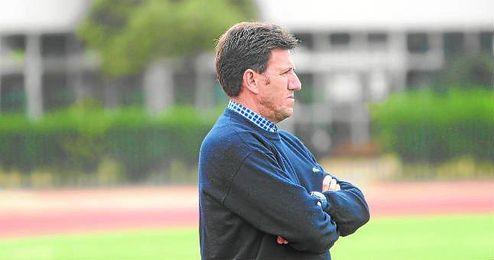 En la imagen, el técnico Diego Román.