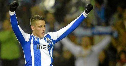 """Su mejor actuaci�n con el Oporto fue en marzo de 2015, con un """"hat trick"""" ante el Sporting."""