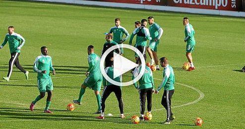 El Betis se prepara para el Madrid