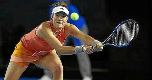 Muguruza cayó ante Barbora Strycova en Australia.
