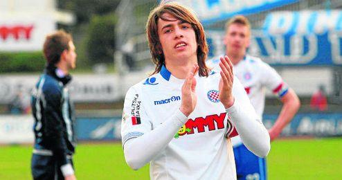 La joven promesa croata tiene contrato en Split hasta 2018.