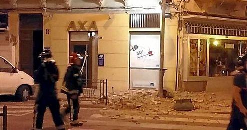 En Melilla ha causado da�os en edificios y la suspensi�n de las clases.