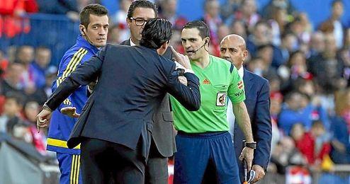 Imagen del Atlético-Sevilla.