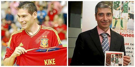 Boned y García Mera son dos leyendas del fútbol sala nacional e internacional.