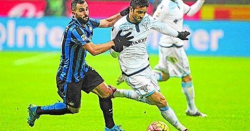 Montoya no ha tenido protagonismo en el Inter.