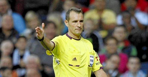 Clos G�mez arbitrar� la ida de Copa.