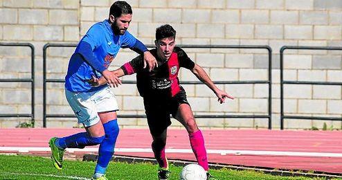 Lance del San José-Rociera jugado el pasado domingo.