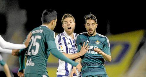 Cejudo es el más regular del Betis.