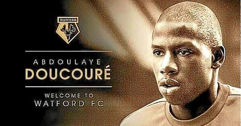 La imagen con la que presenta el Watford a Abdoulaye Doucoure