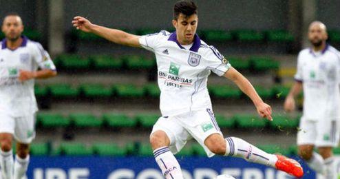 Fede Vico no ha jugado demasiado en el Anderlecht.