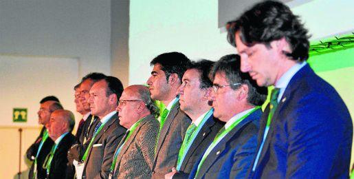 Una imagen de los rectores durante la pasada junta ordinaria.
