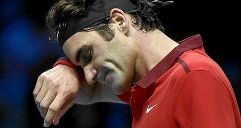 El suizo Roger Federer será sometido a una operación de menisco.
