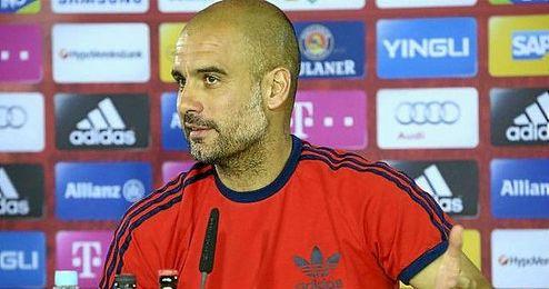 El catalán prevé una relación difícil con la prensa mientras siga en Bayern.