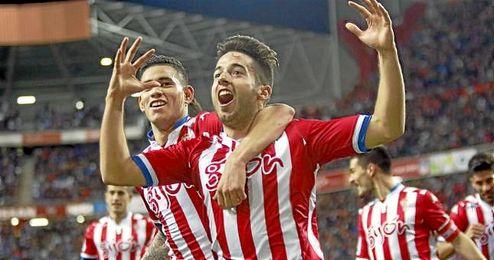 Jony consiguió ante el Deportivo su segundo gol de la temporada.