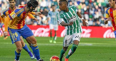 Musonda, en el partido ante el Valencia.