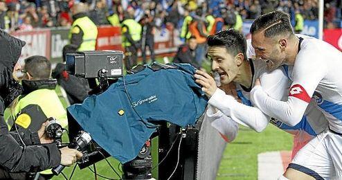 Luis Alberto y Lucas Pérez sonríen en la vanguardia del Deportivo de La Coruña, donde han conseguido una simbiosis total.