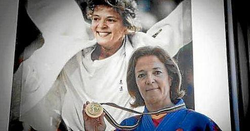 Miriam Blasco, campeona olímpica en Barcelona 1992.