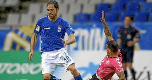 Michel durante un lance del partido
