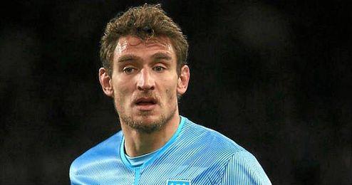 En la imagen, el ya ex jugador del West Ham, Nikica Jelavic.