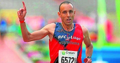 El atleta belga Abdelhadi El Hachimi estará en la línea de salida del Maratón de Sevilla.