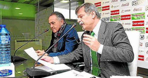 José Antonio Bosch, exadministrador judicial del Real Betis Balompié.