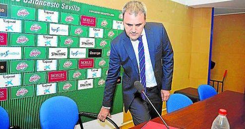 Fernando Moral reconoció que ya tocaron otras opciones.