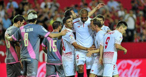 El Sevilla ya gan� al Rayo en la primera vuelta.