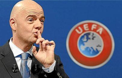 Infantino, Secretario general de la UEFA