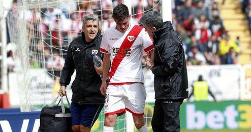 En la imagen, Jozabed en el pasado encuentro frente al Sevilla.