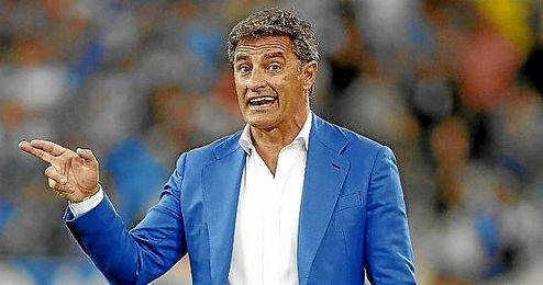 """""""Cuando hay camisetas del Athletic de Bilbao enfrente siempre hay buenos jugadores"""", comentó el entrenador, Michel."""
