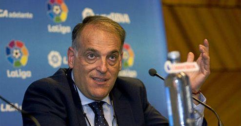 En la imagen, Javier Tebas.
