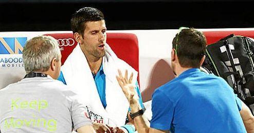 El tenista espa�ol nunca hab�a logrado superar a Djokovic en los siete duelos anteriores.