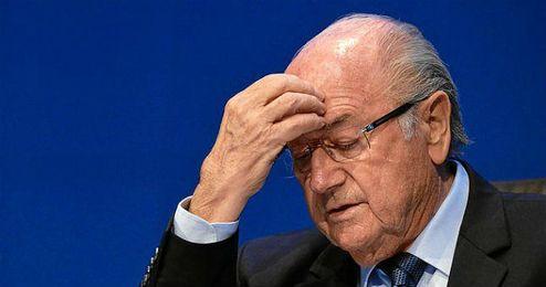 En la imagen, Joseph Blatter.