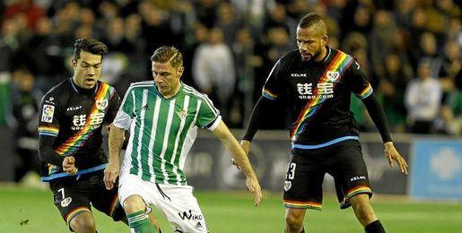 Imagen del Betis-Rayo disputado en el Villamar�n.