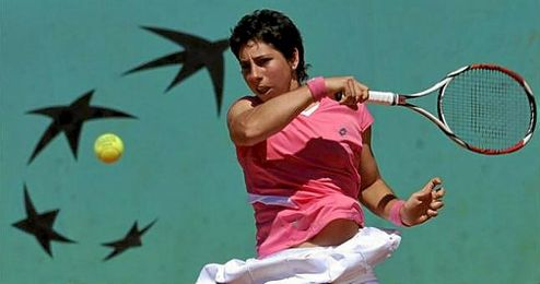 Carla Suárez está pletórica con su sexta plaza.