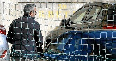 Eduardo Maci�, en las instalaciones de la ciudad deportiva.