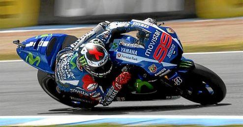 Lorenzo, en una imagen de la temporada pasada.