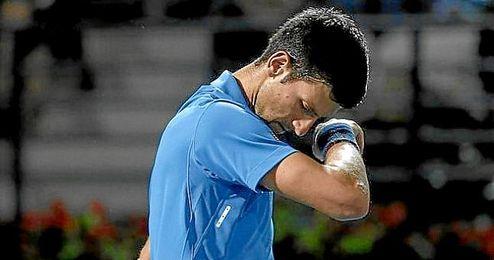 Djokovic se retiró ante Feliciano López