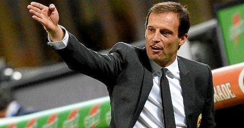 En la imagen, el actual entrenador de la Juventus, Massimiliano Allegri.