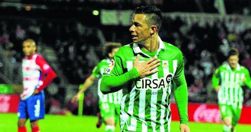 Rubén Castro le ha marcado cinco goles al Granada con la camiseta del Betis.