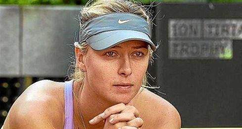 """Sharapova admitió toda """"la responsabilidad"""" y asume su error."""