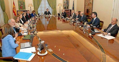 Imagen de un Consejo de Ministros de esta legislatura.