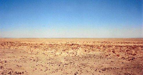 En la imagen, el �rido desierto de Atacama, ubicado en Chile.