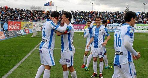 Imagen del anterior lleno en Butarque en el partido ante el Alavés.