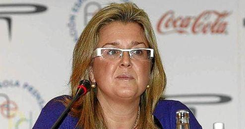 En la image, la ex seleccionadora española de sincronizada, Anna Tarrés.