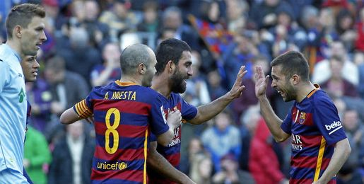 Imagen del Barcelona-Getafe.