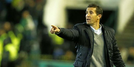 Juan Merino, técnico del Betis.