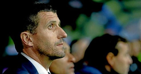 Javi Gracia renueva con el Málaga hasta 2019.