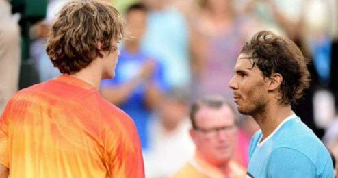 Nadal superó a Zverev en Indian Wells.